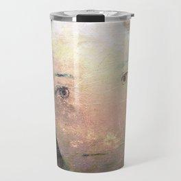 Catalina's Portrait / Retrato artístico de Catalina Travel Mug