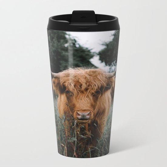 Highlander  Metal Travel Mug