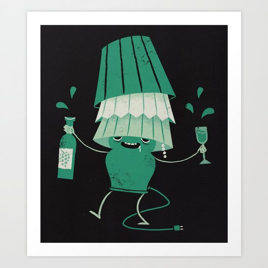 Lights Out Art Print