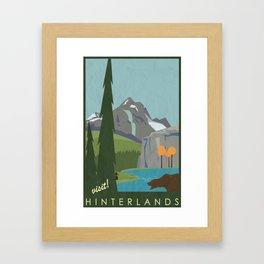 Dragon Age - Hinterlands Travel Poster Framed Art Print
