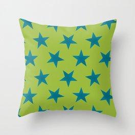 Stars 25 Throw Pillow
