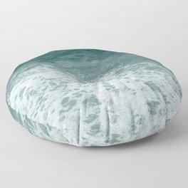 Sea Foam Monochrome Floor Pillow