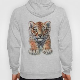 Playful Tiger Cub 907 Hoody