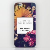 lee pace iPhone & iPod Skins featuring The Pace Of Nature by Galaxy Eyes