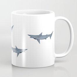 Origami Shark Coffee Mug