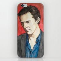 benedict iPhone & iPod Skins featuring Benedict by IamDeirdre