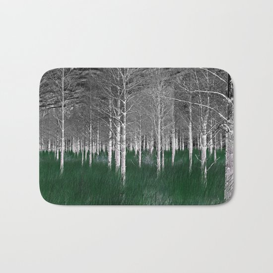 The woods are lovely, dark and deep part 1 Bath Mat