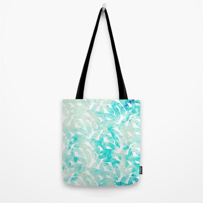 Painted Leaf Evolution #society6 #decor #buyart Tote Bag