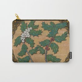 Celtic Holly Carry-All Pouch