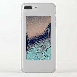 BE WITH ME - TRIANGLES ABSTRACT #2 #art #society6 Clear iPhone Case