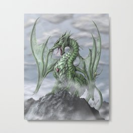 Misty Mountain Metal Print