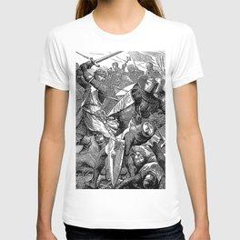 The Battle of Evesham: De Montfort's Last Stand T-shirt