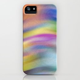 Gust of Happiness iPhone Case