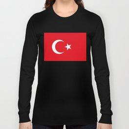Flag of Turkey Long Sleeve T-shirt