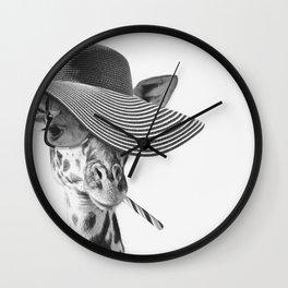 SAFIRA ZHIRAFETTA Wall Clock