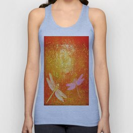 Dragonflies the forgotten clearing Unisex Tank Top