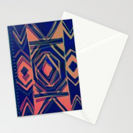 ndebele blue Stationery Cards