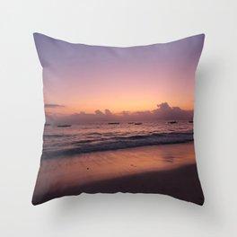 Sunset Tanzania Throw Pillow