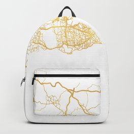 ISTANBUL TURKEY CITY STREET MAP ART Backpack