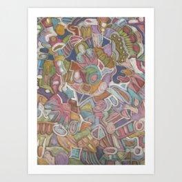 Muddle 2 Art Print