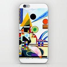 Tribute to Kandinsky Balancement iPhone Skin