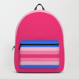 Trans Woman Flag Backpack