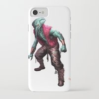 cthulhu iPhone & iPod Cases featuring CTHULHU by Yoncho Yonchev