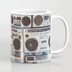 Boom boxes Mug