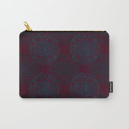 Fabric Deep Red Carry-All Pouch