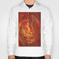 beauty and the beast Hoodies featuring beauty and the Beast by  Agostino Lo Coco