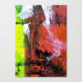 Getting Warmer // abstract painting Canvas Print
