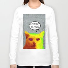 TV Cat Long Sleeve T-shirt