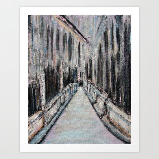 Paris Noir Art Print