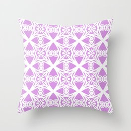 Charisma in Lavender Throw Pillow