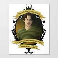 buffy the vampire slayer Canvas Prints featuring Xander - Buffy the Vampire Slayer by muin+staers