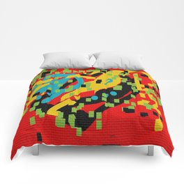 Mural abstract 2 Comforters