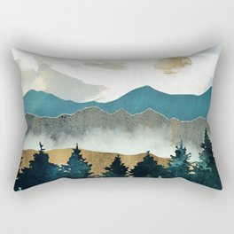 Forest Mist - Custom Horizontal Rectangular Pillow