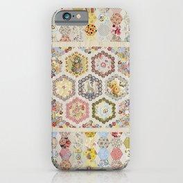 Anna Brereton Quilt iPhone Case