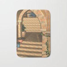 Old Town Stairs and Arches Bath Mat