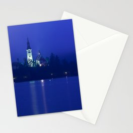 Lake Bled Slovenia Stationery Cards