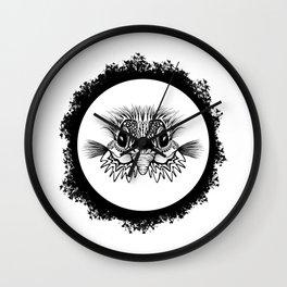 Half Bird Wall Clock