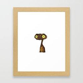 Grumpy E.T. Framed Art Print