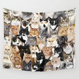 Catmina 2017 - FIVE Wall Tapestry
