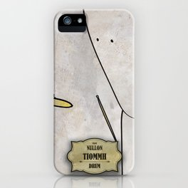 Tiomh from Nullom (drum) iPhone Case