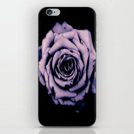 Purple Rose iPhone Skin