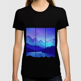 Cerulean Blue Mountains T-shirt