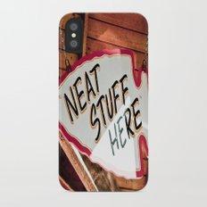 Neat Stuff Here Slim Case iPhone X