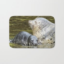 Harbor Seal Sweetness Bath Mat