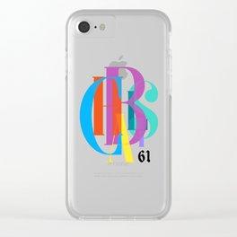 C61 Clear iPhone Case