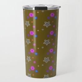Patten Floral 24 Travel Mug